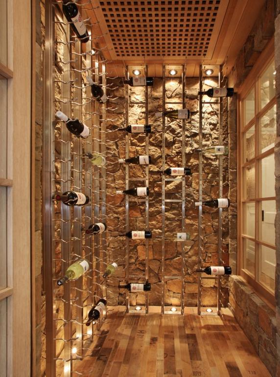 70平公寓也能打造的小型酒窖