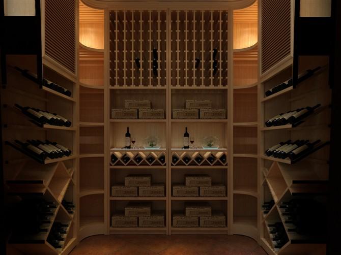 定制实木酒架哪种材质好?