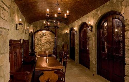 私人酒窖的距离