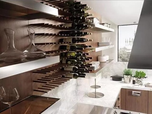 家里不适宜长期存葡萄酒的地方