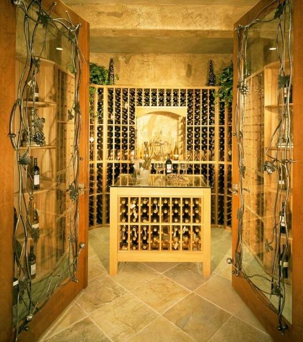 田园风格酒窖,致力原生态的酒窖设计