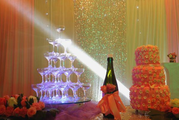 香槟的选杯与娱乐活动