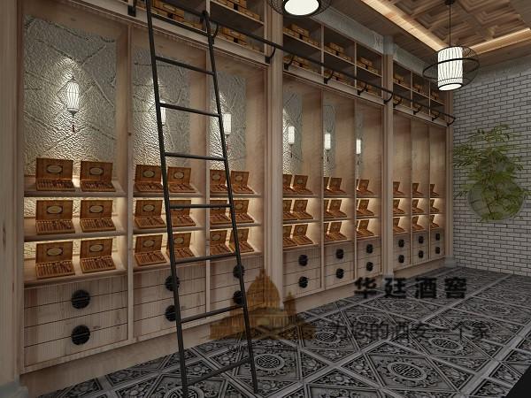 华廷酒窖带你尝鲜四合书院中式雪茄房