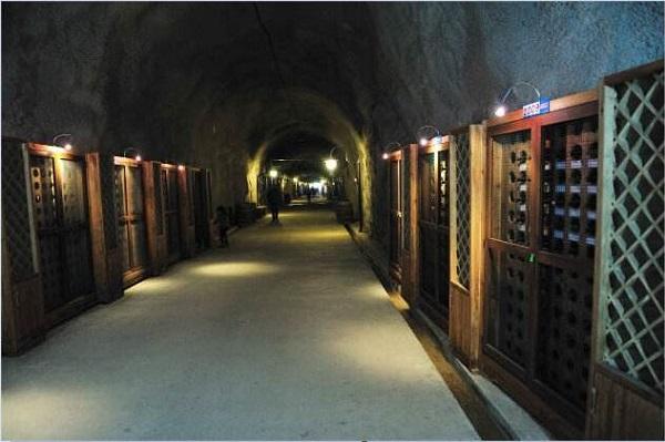 返璞归真的天然红酒窖—防空洞酒窖