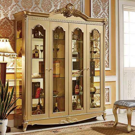 新年色彩之法式实木酒柜