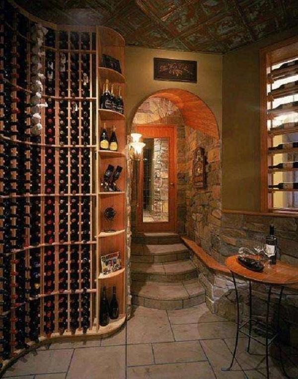 天然的地下酒窖设计