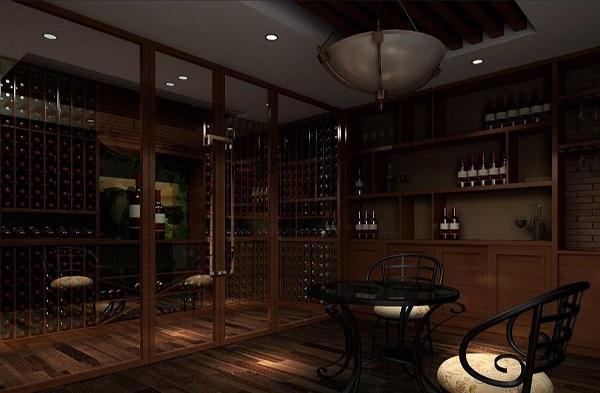 如何设计定制会所酒窖