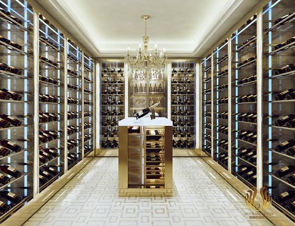 现代简约风格酒窖设计