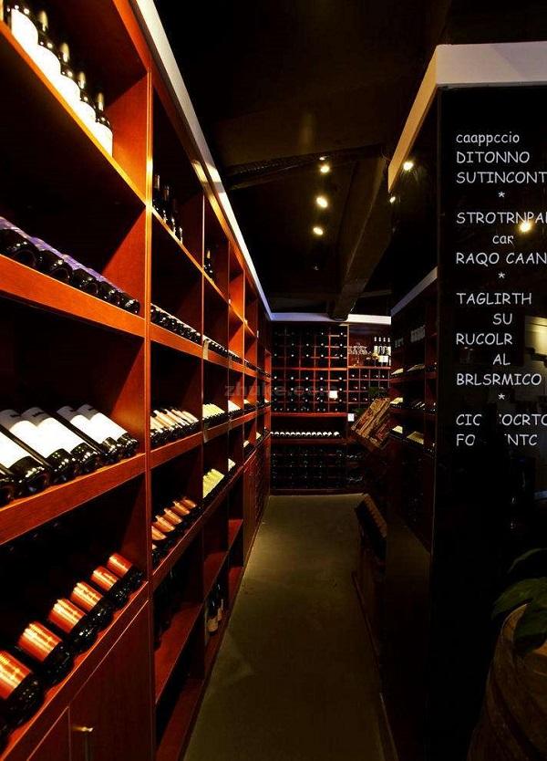 红酒专卖店的设计概念