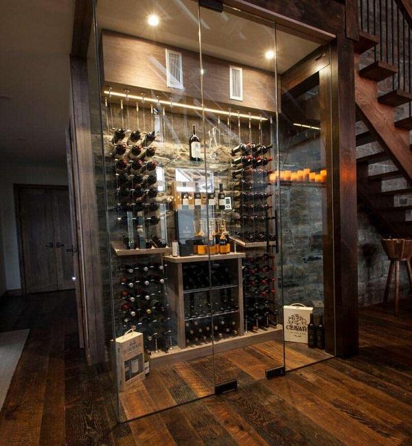 酒柜设计和建造的几个要点介绍