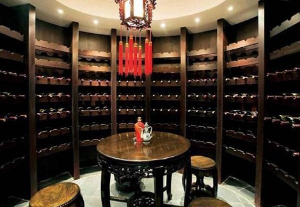 中式酒窖设计精髓欣赏
