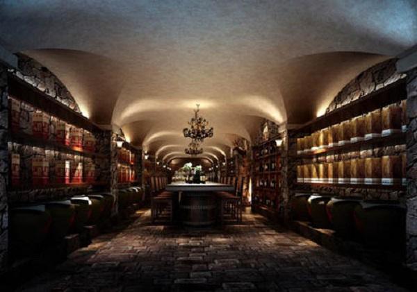 设计私人会所酒窖