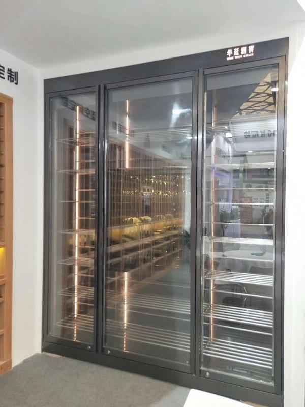 華廷酒窖攜手合作商參展2019上海國際別墅配套展