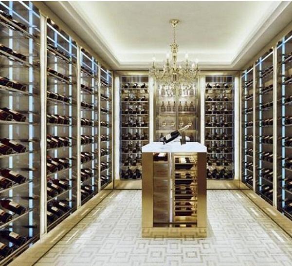 代替地下天然酒窖的现代专业酒窖