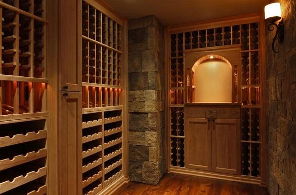 酒窖酒柜定制关于酒架的选择