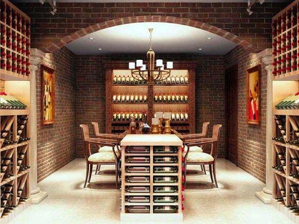 田园酒窖风格酒窖设计