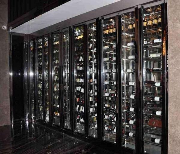 不锈钢恒温酒柜,酒店和会所的首选