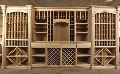 实木酒柜定制可选木料