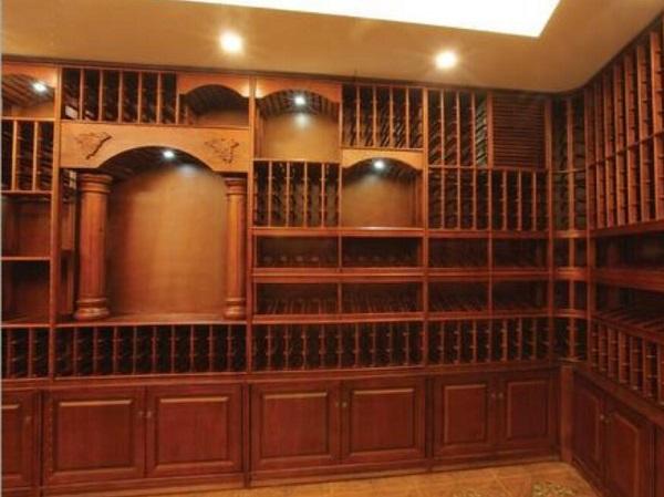 酒窖酒架风格设计