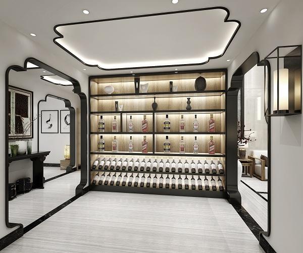 中式風格酒窖的魅力