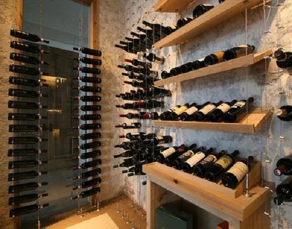 給葡萄酒最適宜的養酒環境