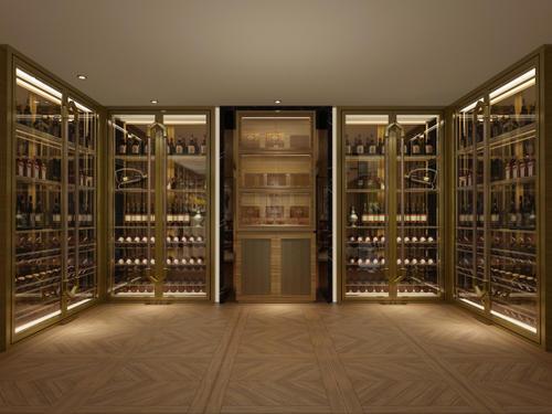不锈钢酒柜定制高度多少最适合?