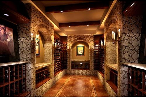 仿生酒窖和天然酒窖