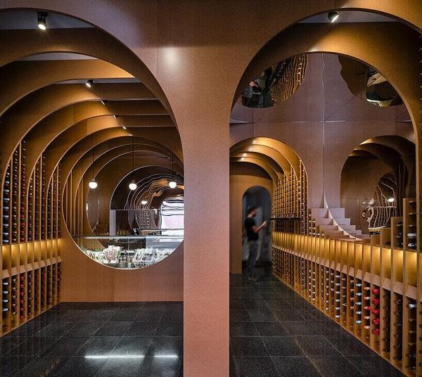 古色古香、典雅低調的酒窖設計細節