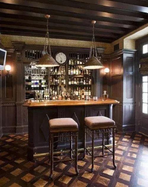 渐渐流行的酒柜装修设计